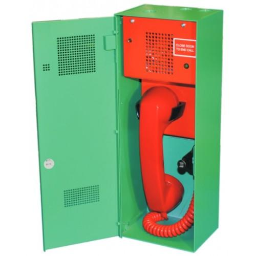 Baldwin Boxall OmniCare BVOCETL Type-A Steward Telephone Locking Door Green