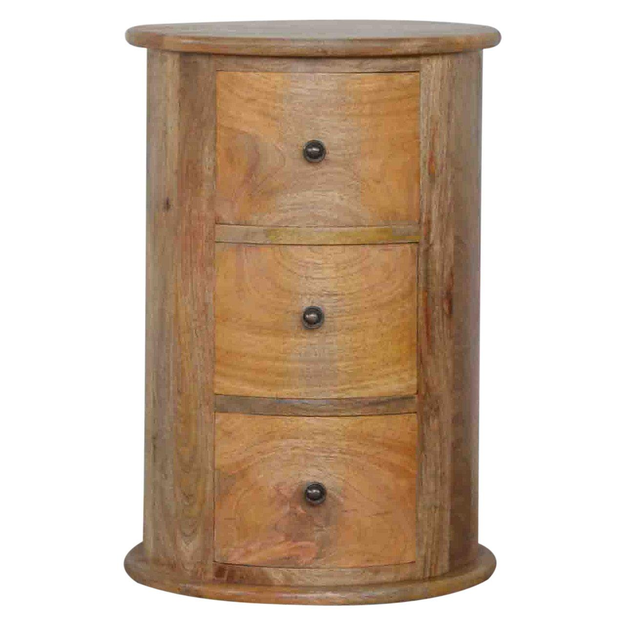 Drum Chest With Three Drawers