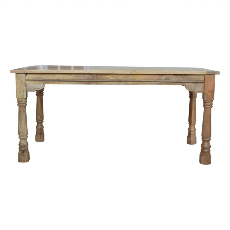Granary Royale Turned Leg Extension Dining Table