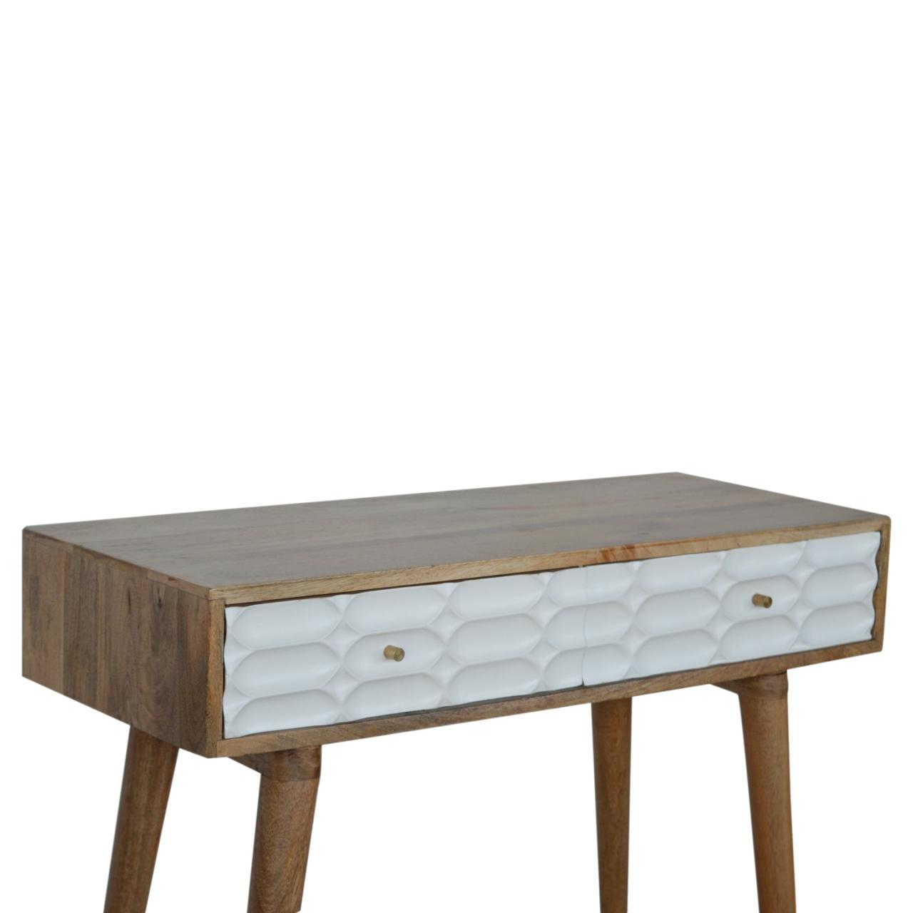 Capsule White Painted Console Table