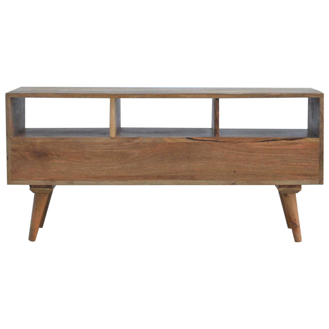Nordic Style Tv Unit With 3 Drawers