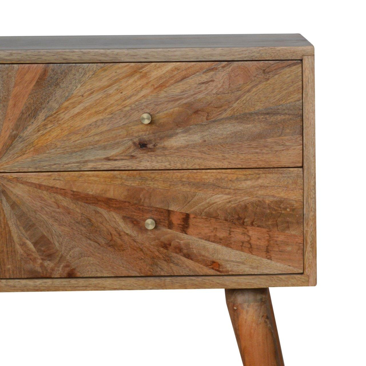 Sunrise Patterned Console Table