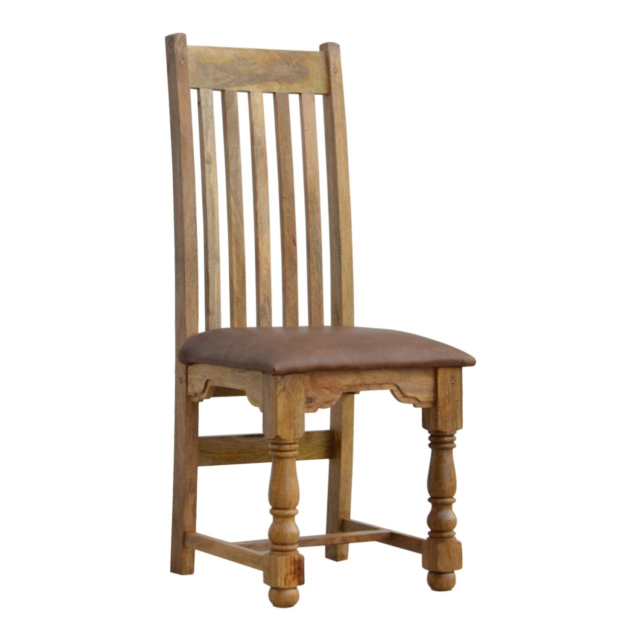 Granary Royale Chair With Leather Seat Set Of 2