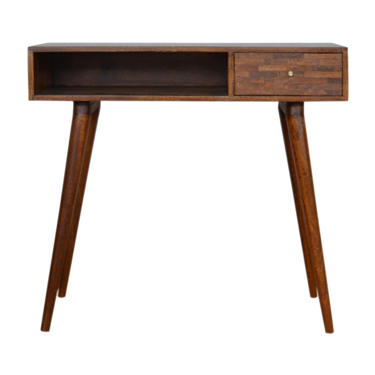 Mixed Chestnut Writing Desk