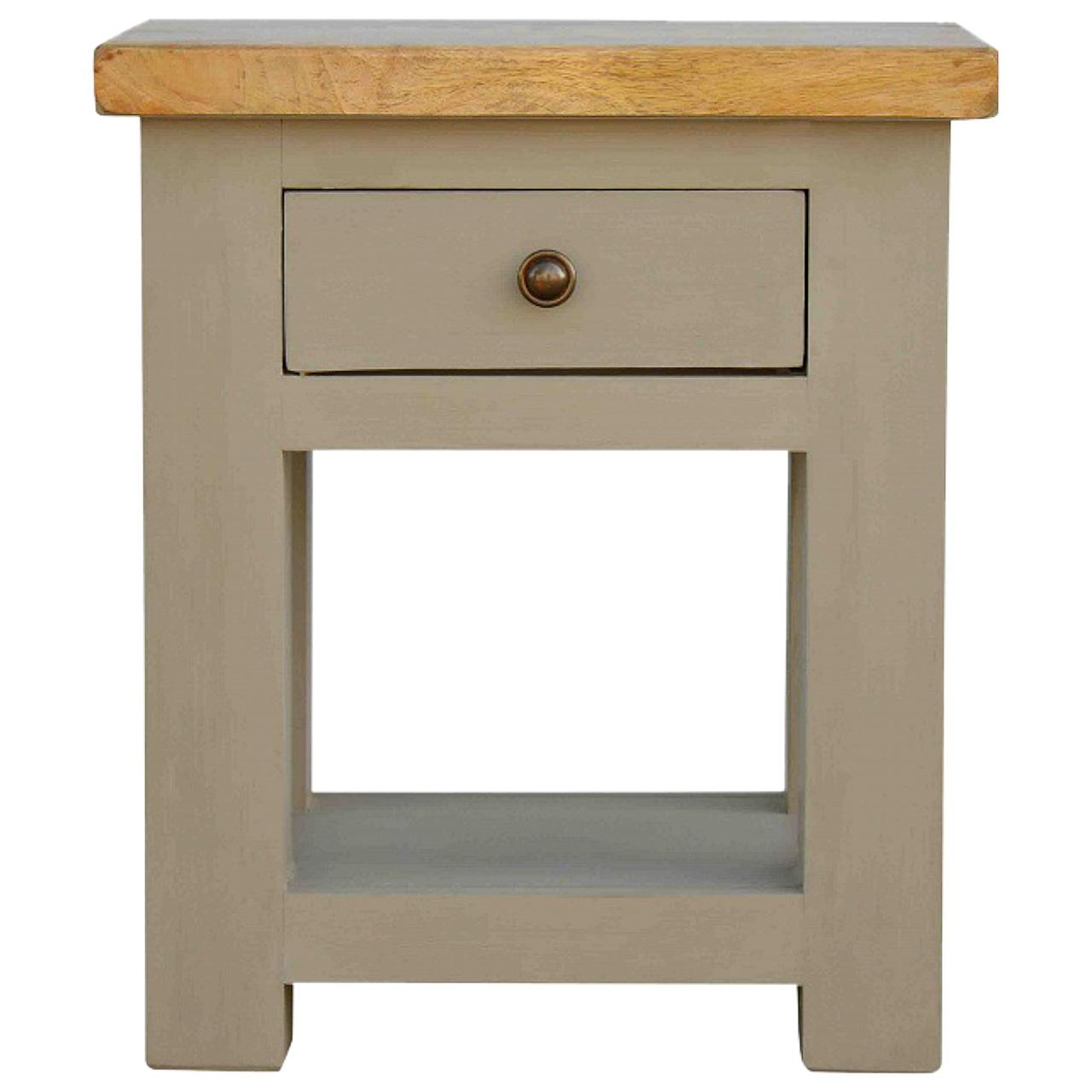 Country Style Two Tone Bedside
