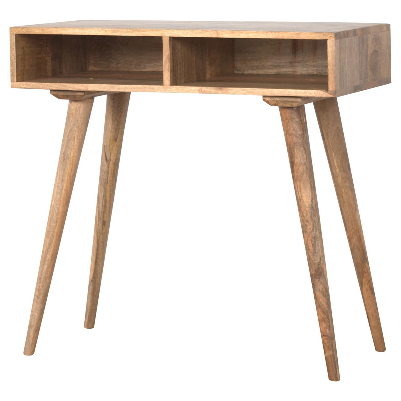 Nordic Style Open Shelf Writing Desk