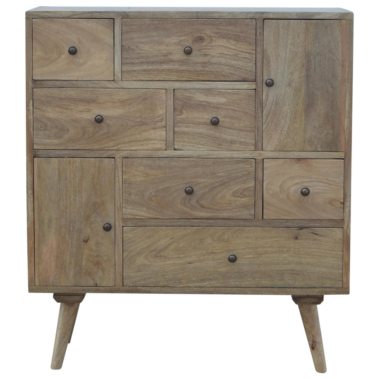Nordic Style Multi Chest with 9 Drawers