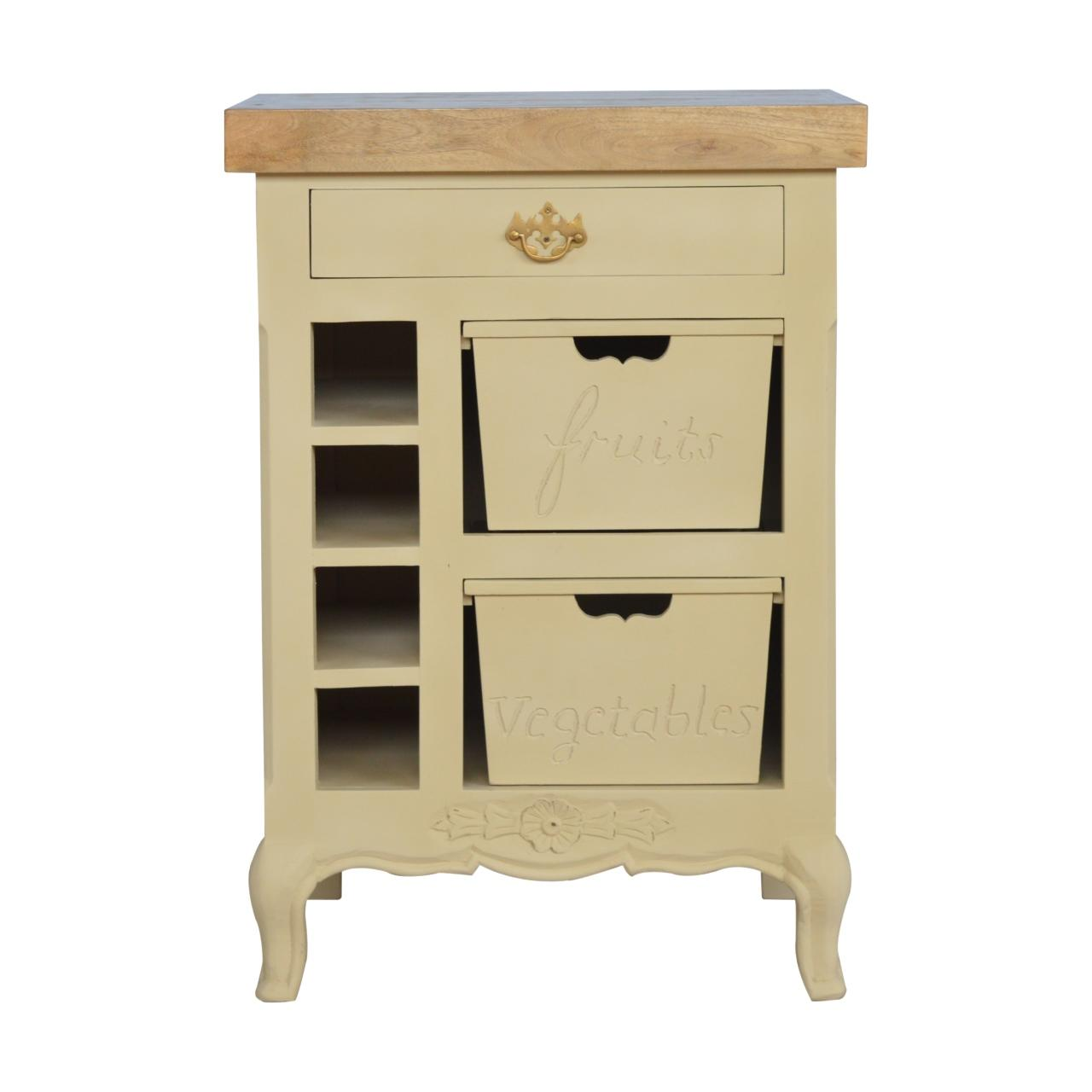 Amberley Carved Kitchen Cabinet