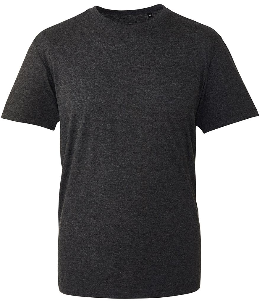 black marl organic t-shirt anthem