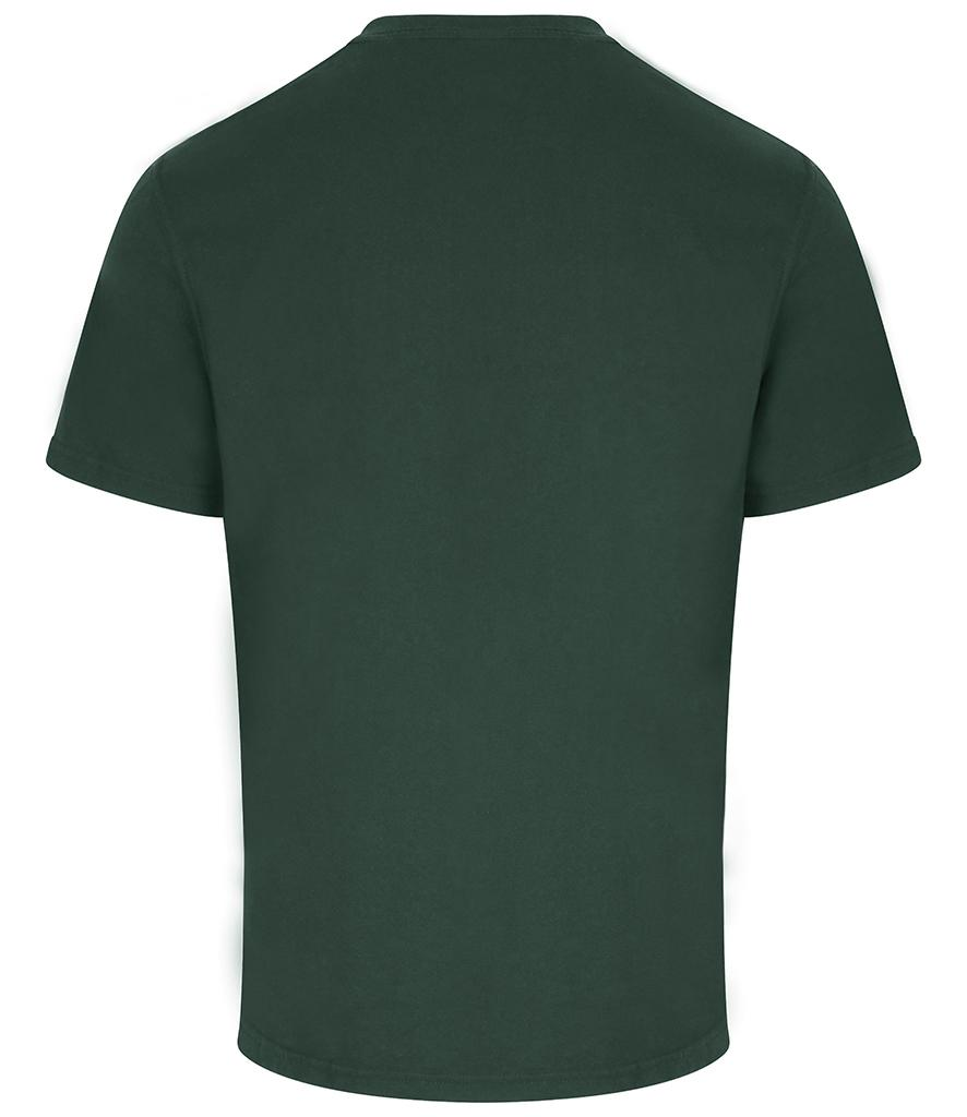 pro rtx workwear t-shirt bottle green back