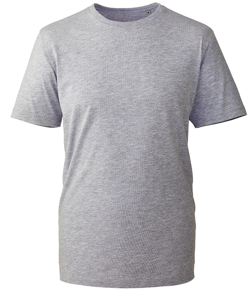 grey marl organic t-shirt anthem
