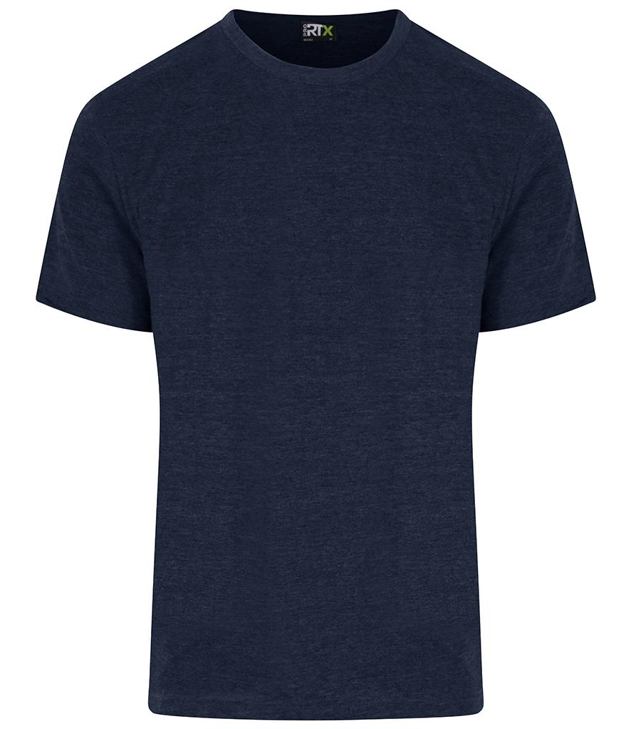 navy blue pro rtx workwear t-shirt