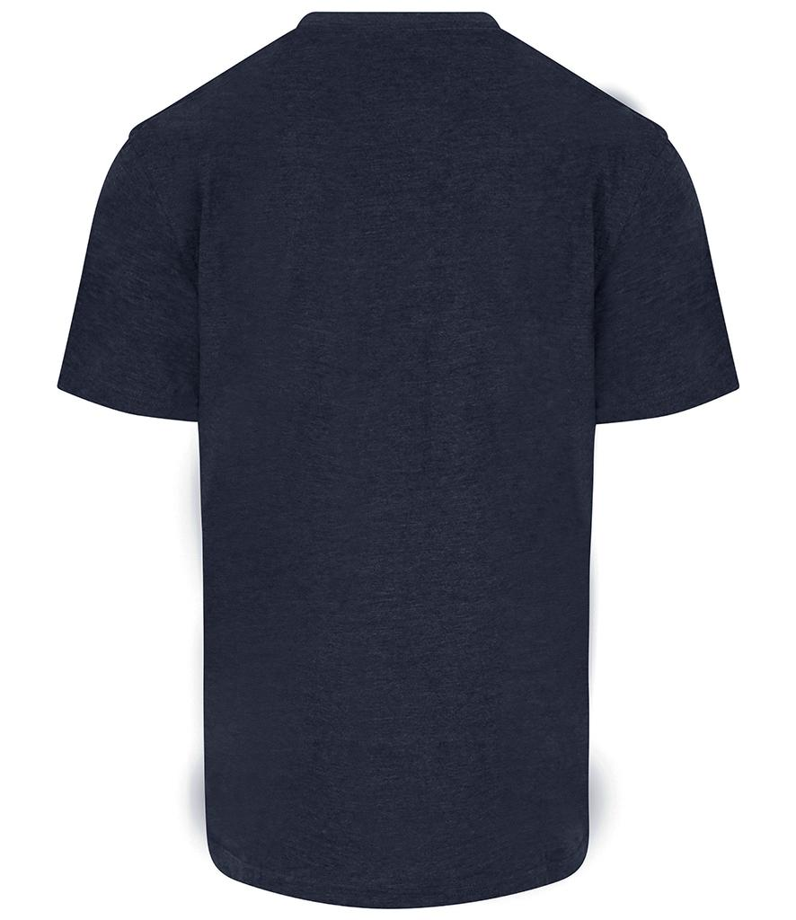 navy blue pro rtx workwear t-shirt back