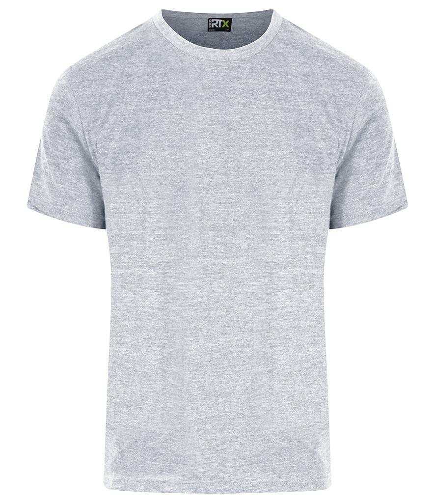 heather grey pro rtx workwear t-shirt