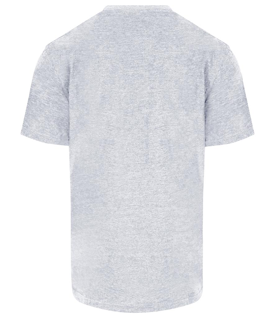 heather grey pro rtx workwear t-shirt back