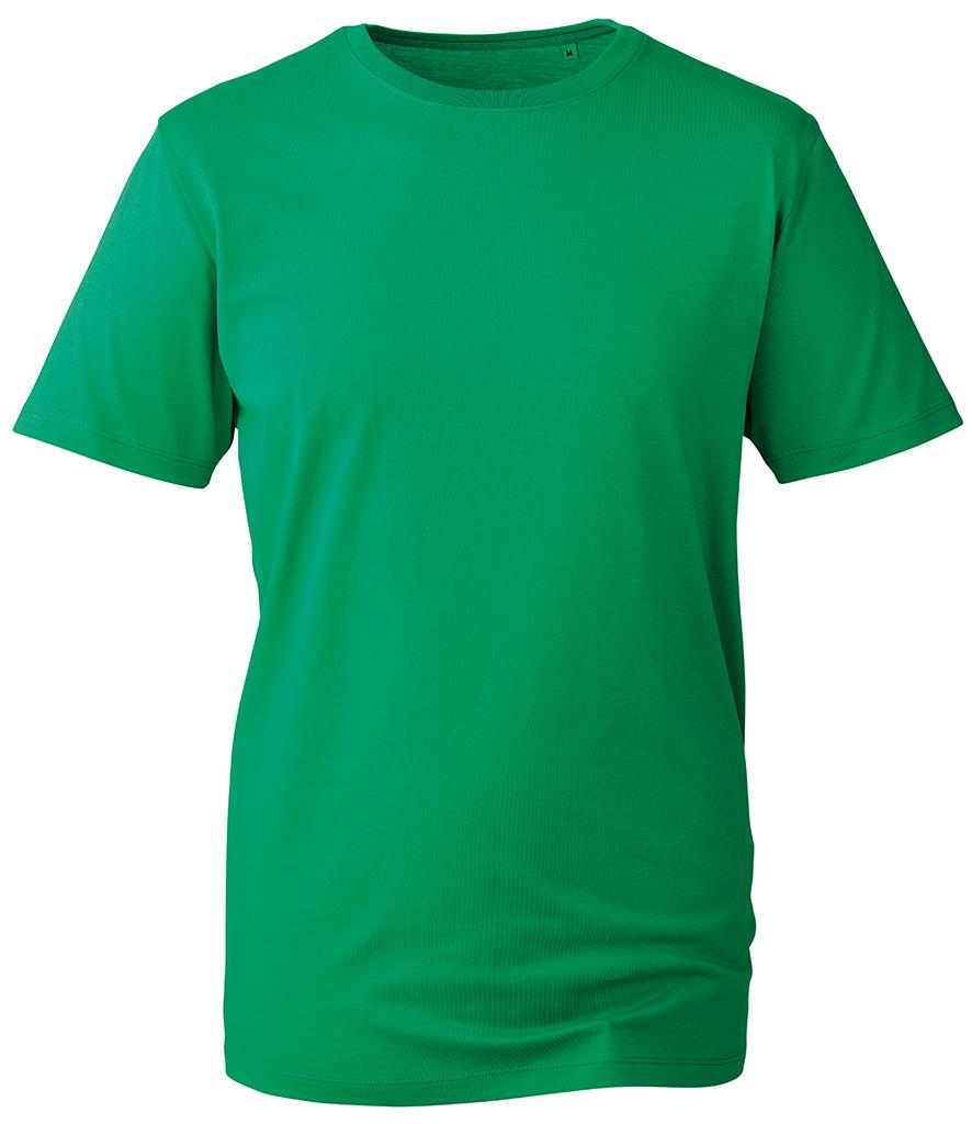 kelly green organic t-shirt anthem
