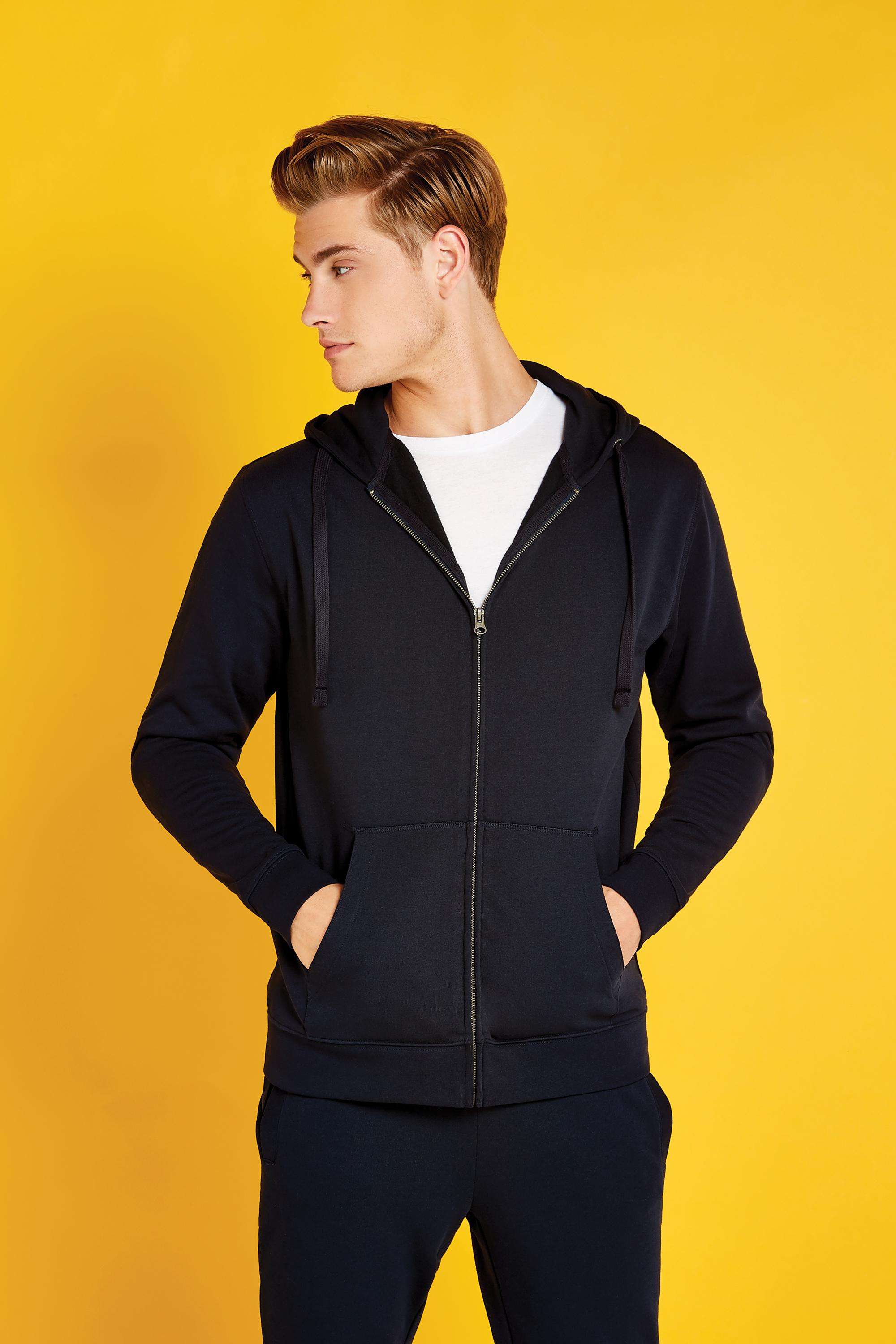 K303 Kustom Kit Zipped Hoodie Model