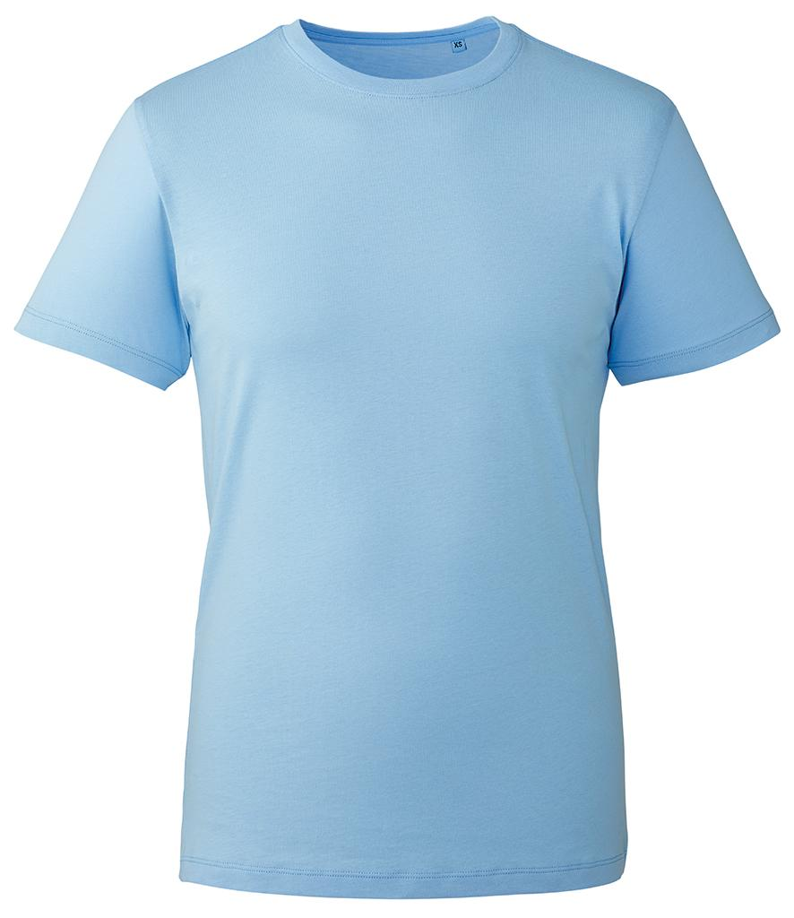 light blue organic t-shirt anthem