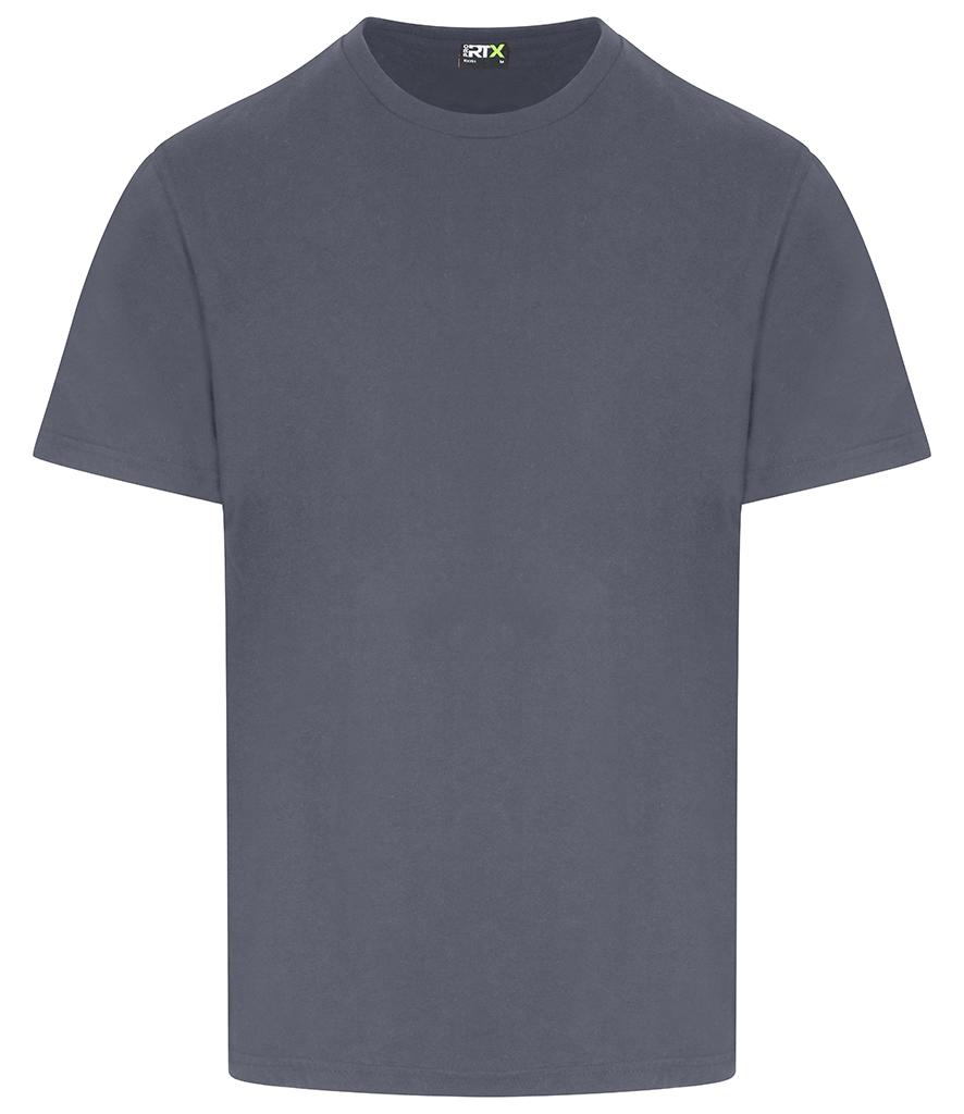solid grey pro rtx workwear t-shirt