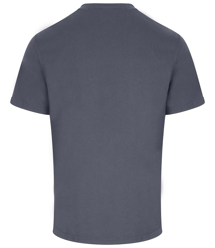 Solid Grey pro rtx workwear t-shirt back