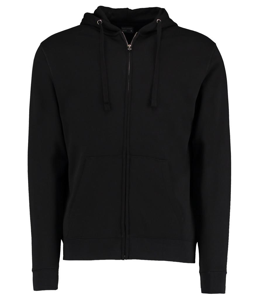k303 kustom kit zipped hoodie black