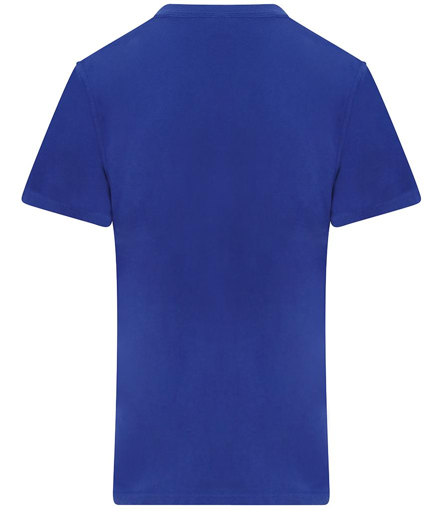 royal blue pro rtx workwear t-shirt back