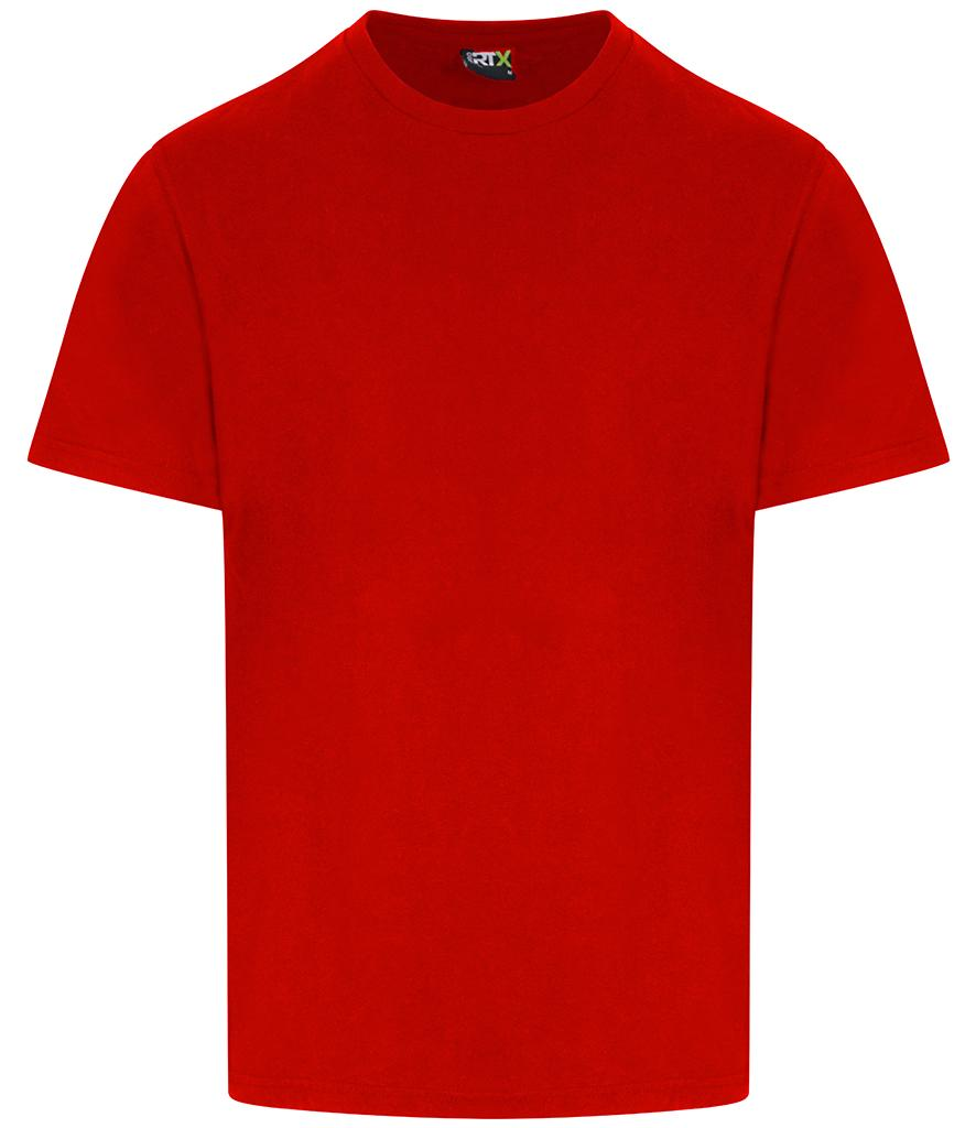 red pro rtx workwear t-shirt