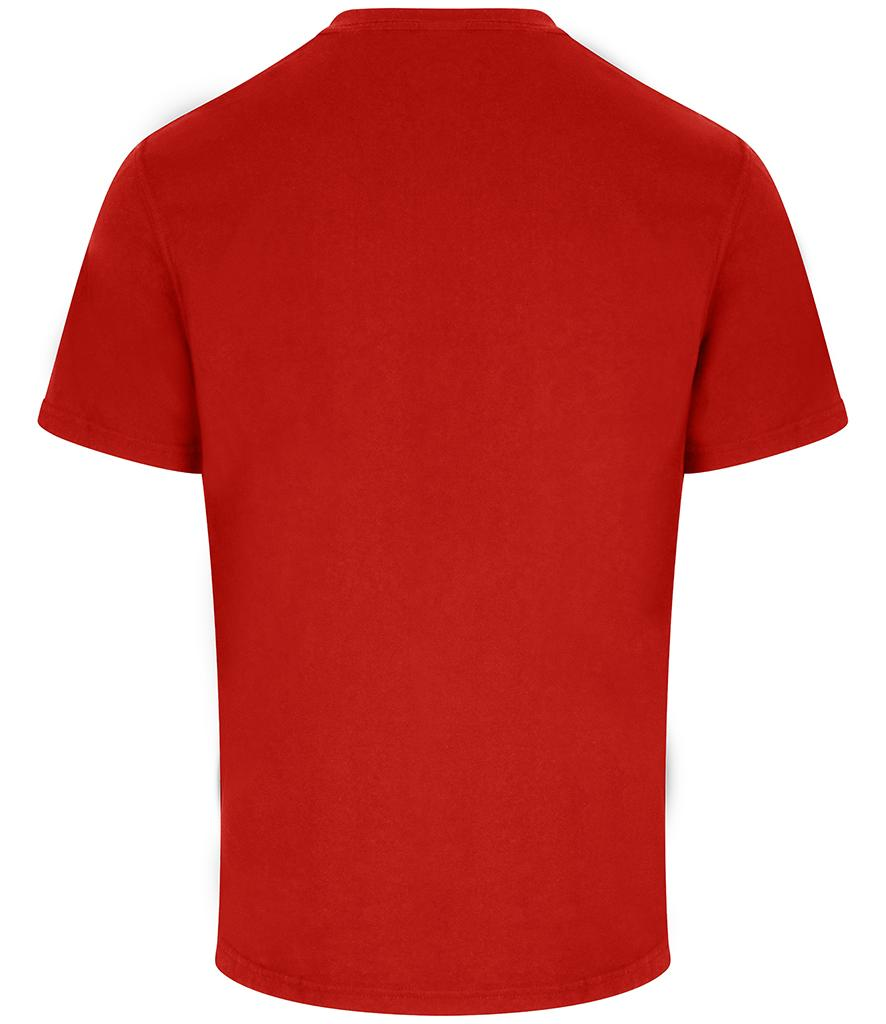 red pro rtx workwear t-shirt back