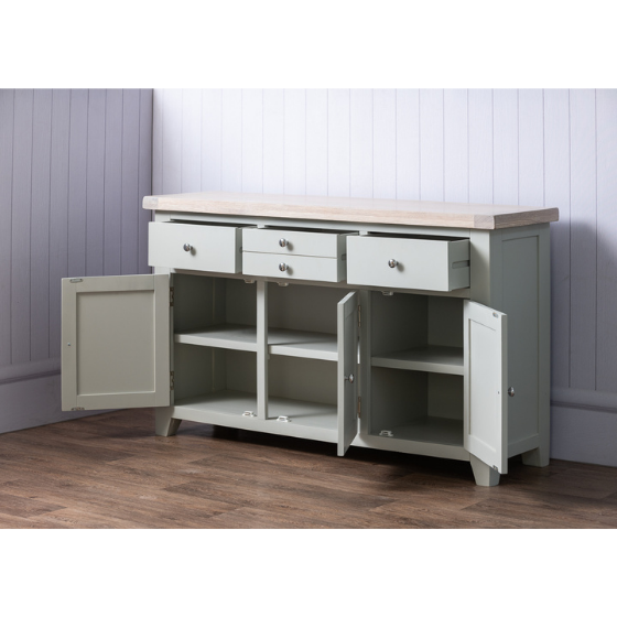 Large sideboard open