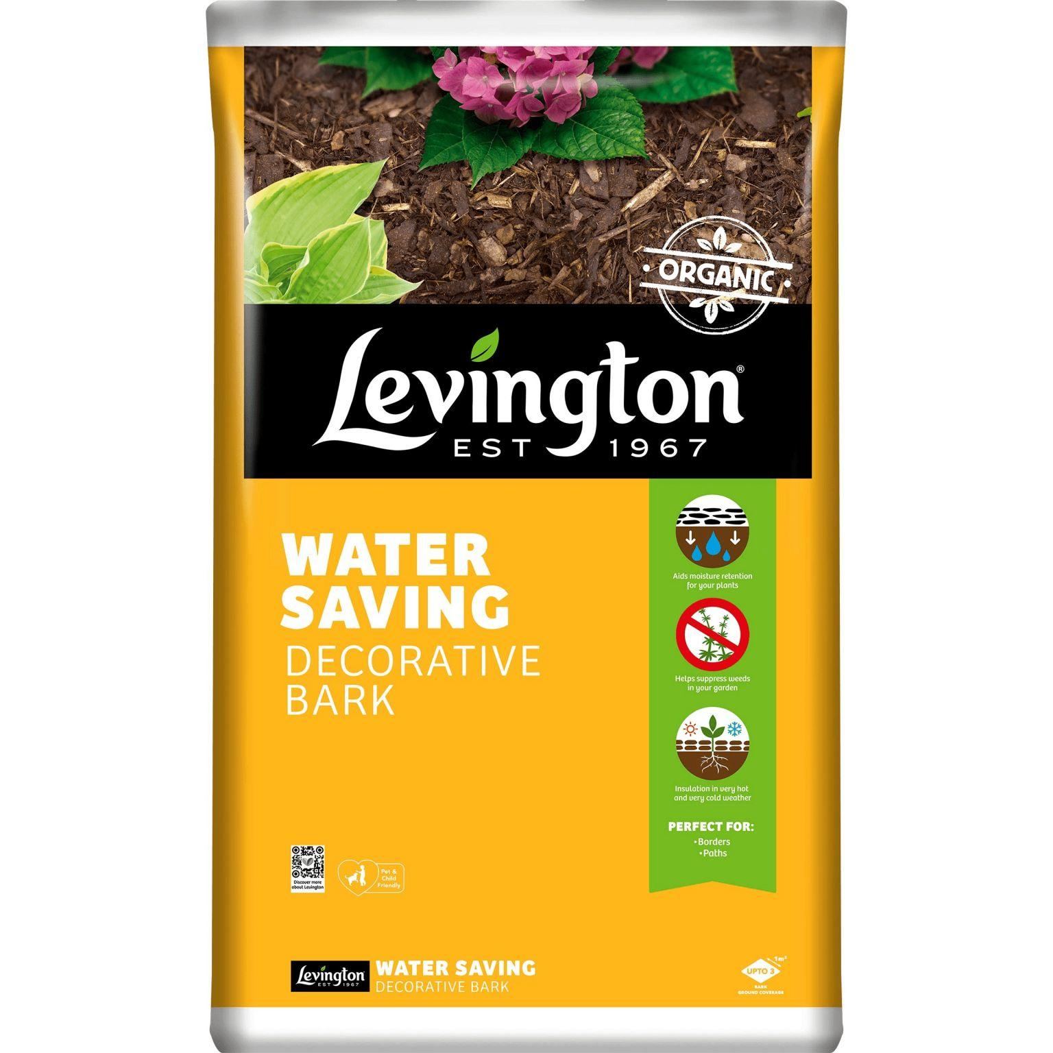 Levington water saving bark