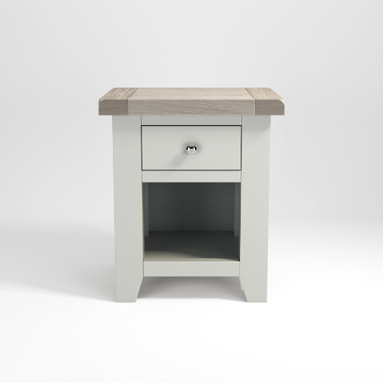 Small bedside table single drawer
