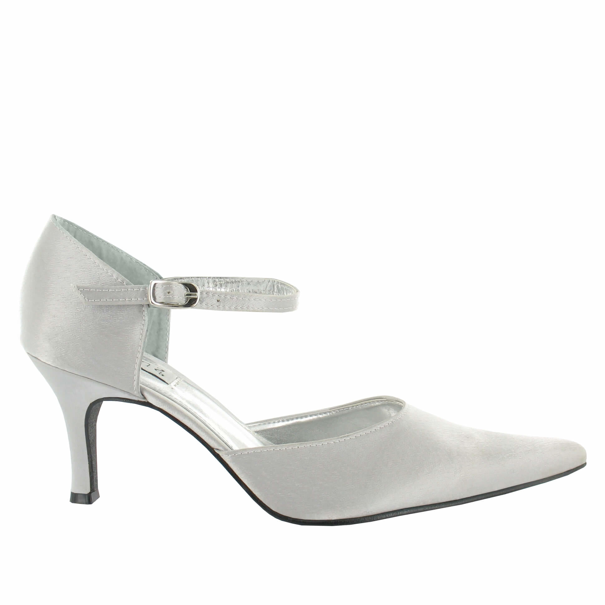 Laura in Light Grey/Silver