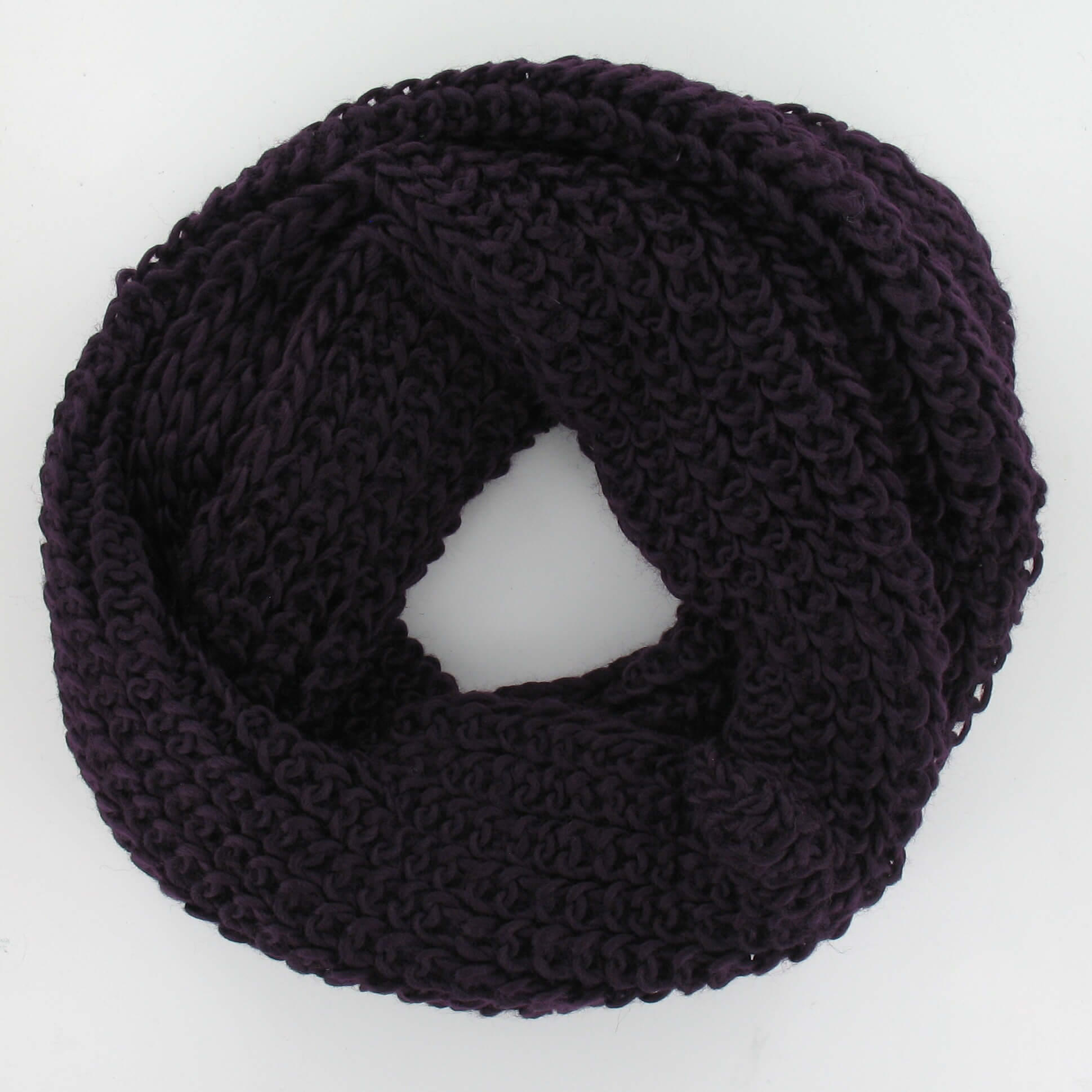 Snood in Plum