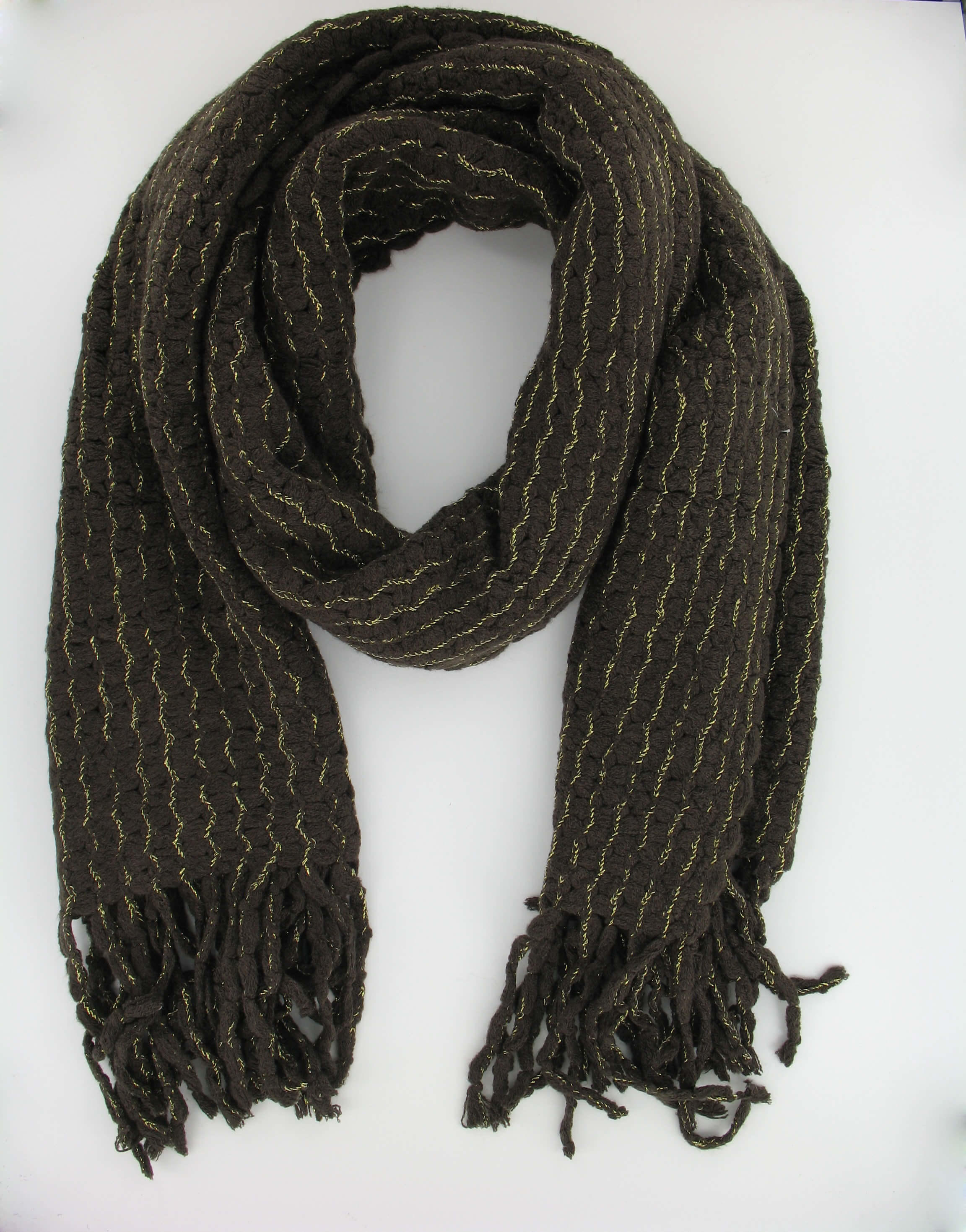 Scarf in Brown