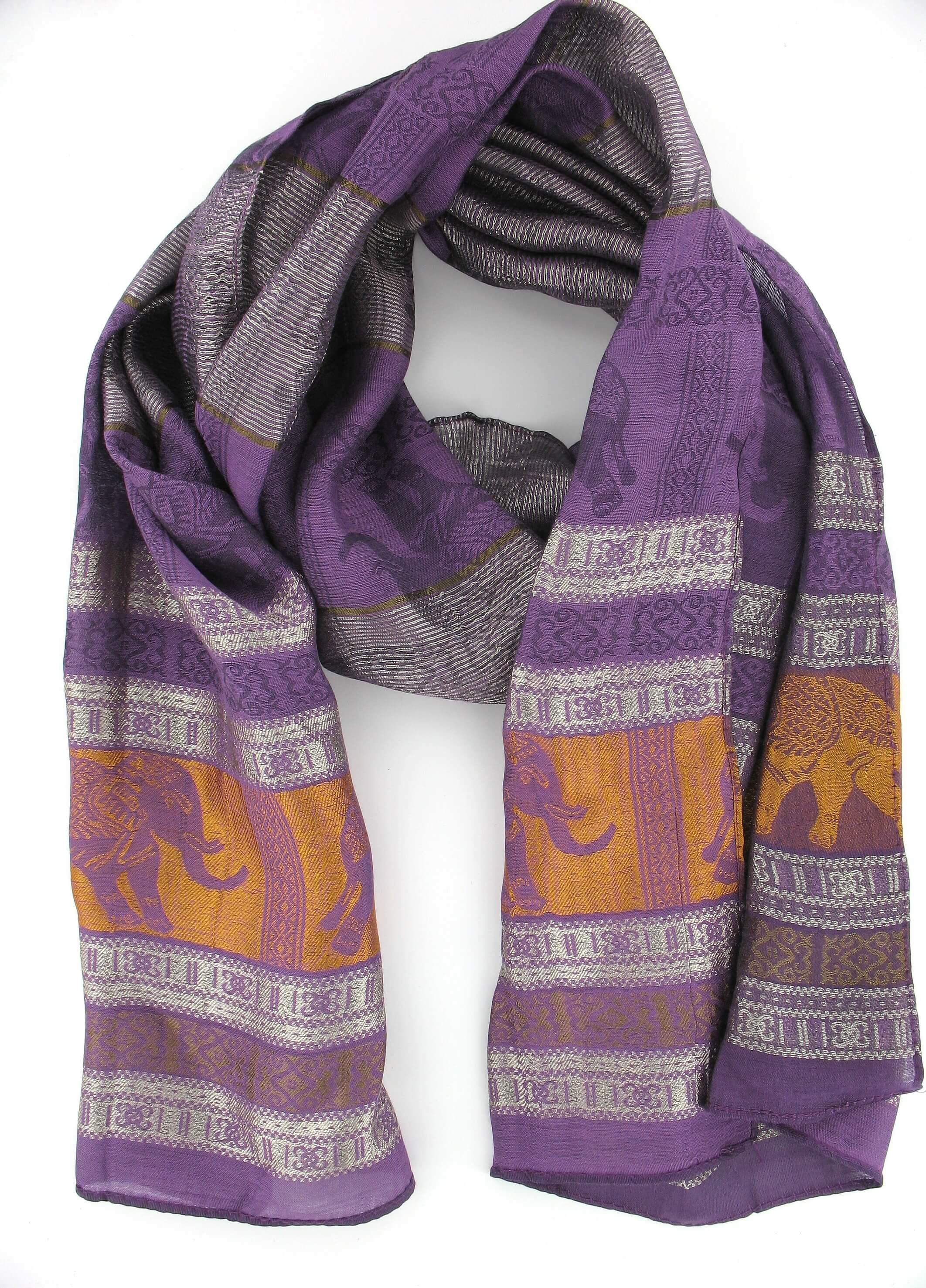 Scarf in Purple