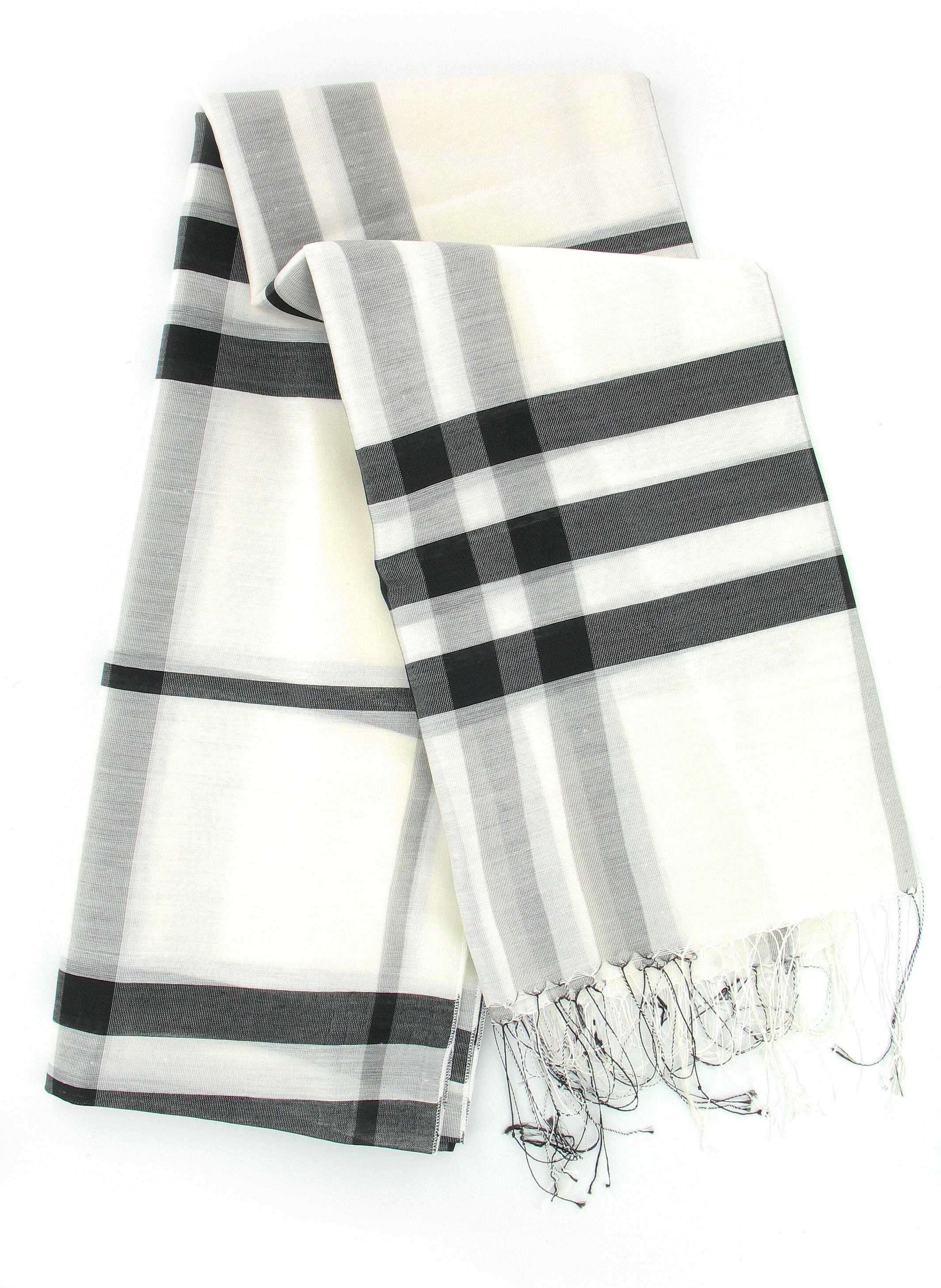 Scarf in White
