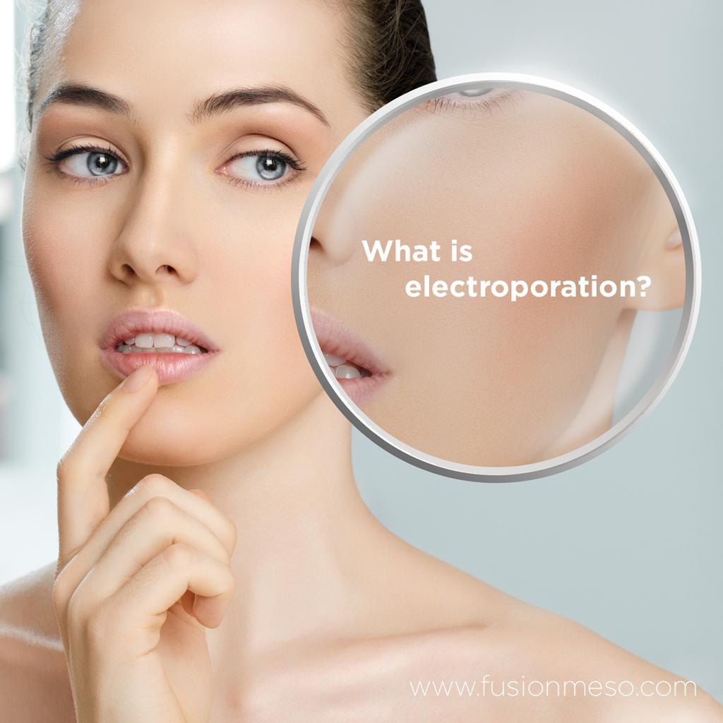 What is electroporation?