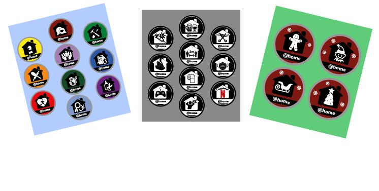@ Home Badges - Sets