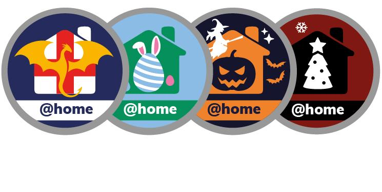 @ Home Badges - Occasions