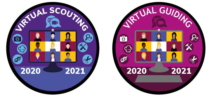 @ Home Badges - Virtual Meetings