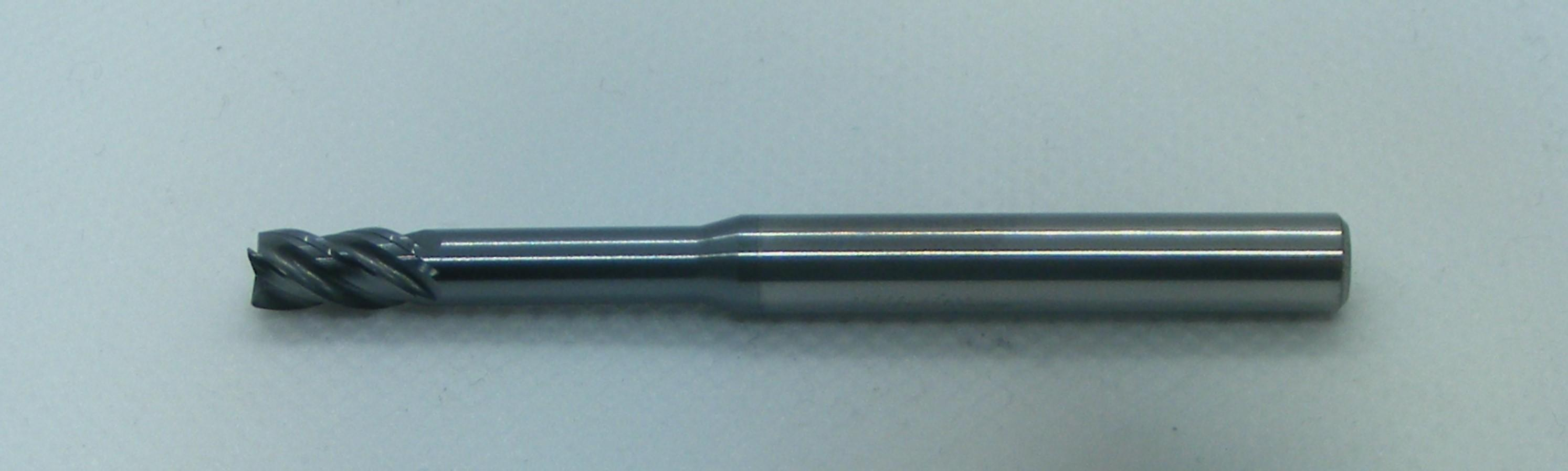 Extended Necked End Mill