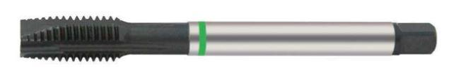 Metric Fine Spiral Point Tap for Stainless and Tough Materials