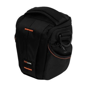 Image of Camlink Camera Holster Bag Black/Orange CL CB30