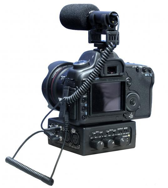 Image of Azden FMX DSLR Porable Mixer