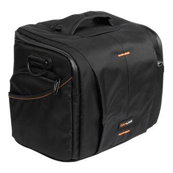 Image of Camlink Camera Shoulder Bag Black/Orange CL CB22
