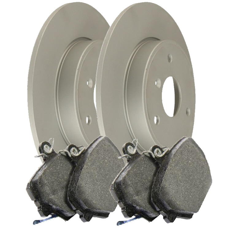 brake discs & pads - 450 fortwo