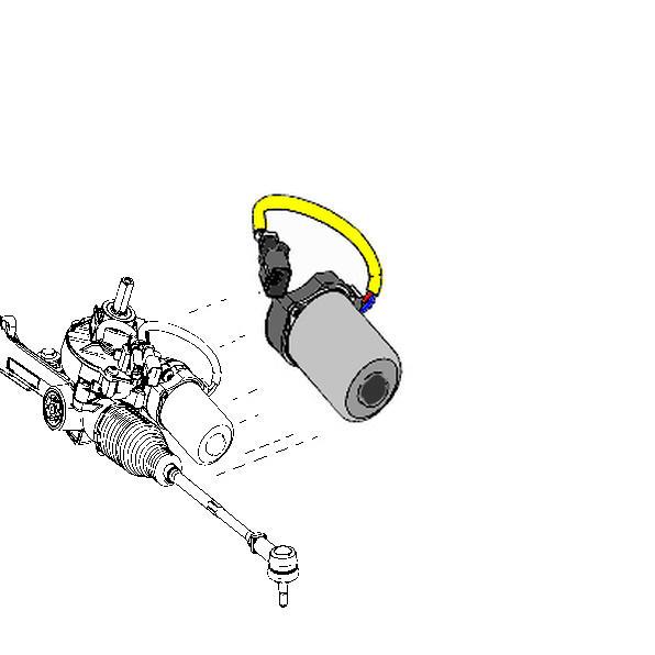 electric power steering motor  eps pas