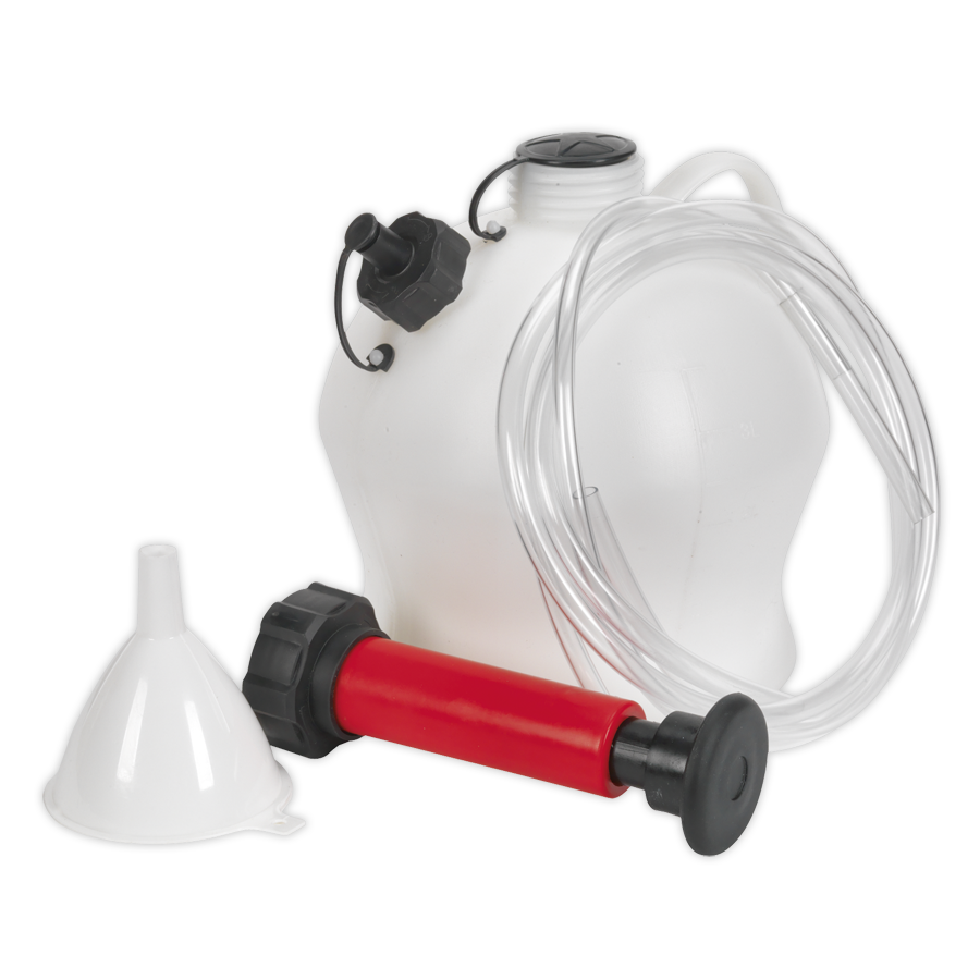 Vacuum Oil Amp Fluid Extractor Manual 4ltr Sealey