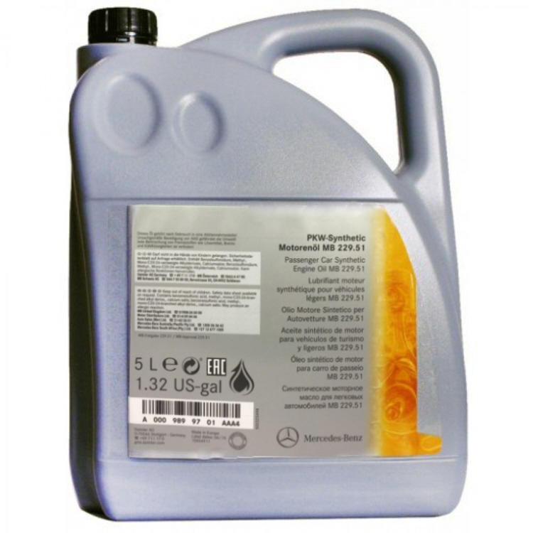 Fully synthetic engine oil 5 ltrs by mercedes benz mb for Mercedes benz approved motor oil