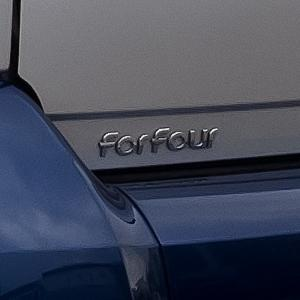 "Chrome ""forfour"" badge"